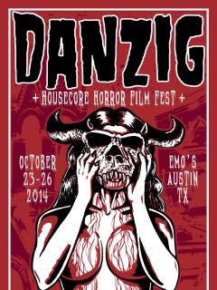 poster 2014 Housecore Horror Film Festival