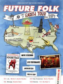 poster History of Future Folk U.S. film tour