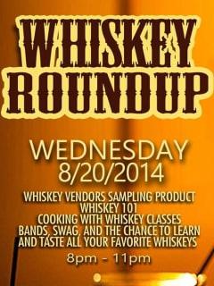 Whiskey Roundup 2014 at tenoak