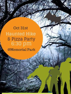 Eighth Annual Bayou City Outdoors Haunted Hike and Pizza Party
