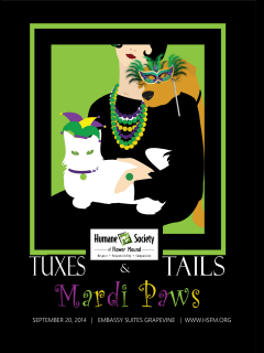 Humane Society of Flower Mound presents Tuxes and Tails