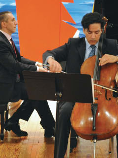 """Aperio, Music of the Americas presents """"Heroic Measures - Dynamic Duos for Cello and Piano"""""""