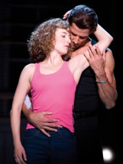 Gexa Energy Broadway at the Hobby Center series January 2014 Dirty Dancing with Amanda Leigh Cobb and Josef Brown