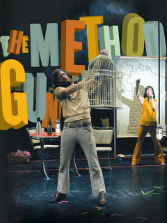 performers Rude Mechs' The Method Gun texas performing arts