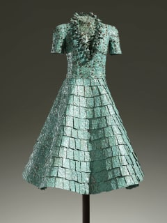 dress sculpture by John Petrey at Russell Collection