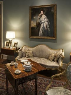 Rienzi exhibition opening: Comfort and the Eighteenth-Century Interior