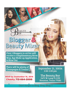 Blogger and Beauty Mixer