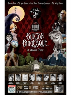 Viva Dallas Burlesque presents Burton Burlesque