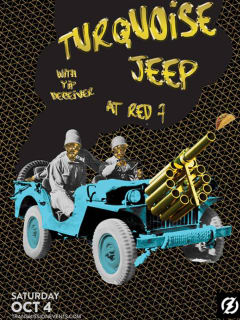 Turquoise Jeep Taco Cannon