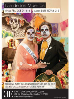 """East End Studio Gallery hosts """"Dia de los Muertos (Day of the Dead) in the East End"""""""