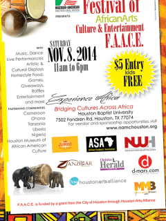 Festival of African Arts, Culture and Entertainment presented by Nigerian American Multicultural Center