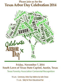 Texas A&M Forest Service Arbor Day Celebration 2014
