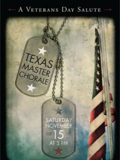 """Texas Master Chorale presents """"A Veterans Day Salute"""""""