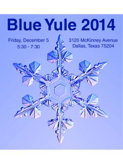 Blue Yule 2014