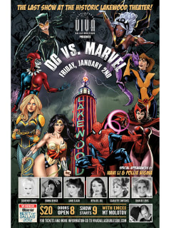 Viva Dallas Burlesque presents DC vs. Marvel