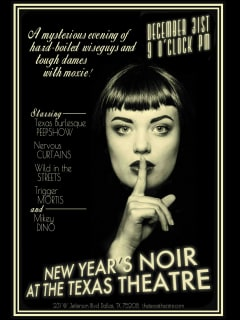 Texas Theatre presents New Year's Noir