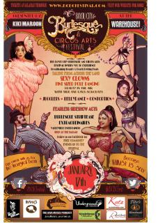 Bayou City Burlesque & Circus Arts Festival