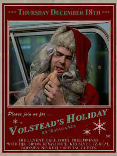 Volstead Lounge's 4th Annual Holiday Extravaganza 2014