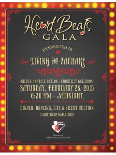 Living for Zachary Heartbeats Gala