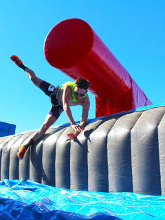 WipeoutRun Houston 5K Obstacle Course