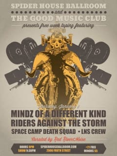 Austin Free Week_The Good Music Club_Mindz of a Different Kind_poster CROPPED_2015