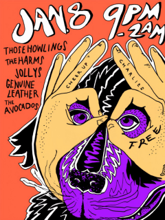 Austin Free Week_Cheer Up Charlie's_Those Howlings_poster CROPPED_2015