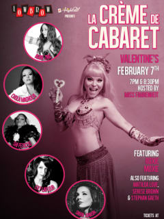 Lowbrow at The Highball_La Creme de Cabaret_Valentine's Day_2015