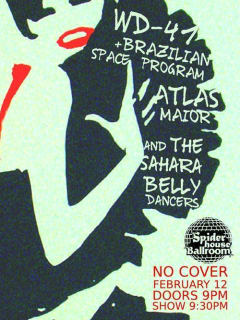 Flirt Belly Dance and Jazz_Spider House Ballroom_February 2015
