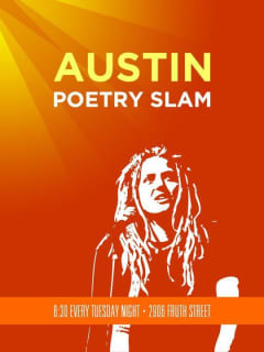 Austin Poetry Slam at Spider House Ballroom