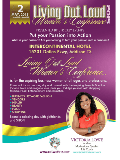Living Out Loud Women's Conference