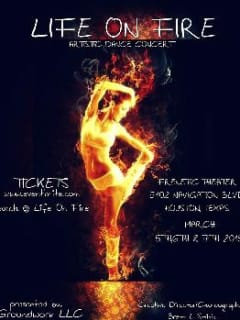 """Groundwork Showcase and Creative Director Brent L. Smith present """"Life on Fire"""""""