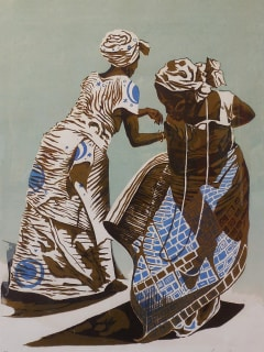 Redbud Gallery opening reception: Maame by John Biggers