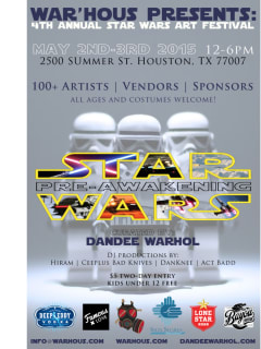 Fourth Annual Star Wars Art Festival