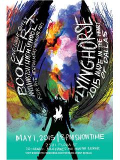 Booker T. Washington presents Flyinghorse