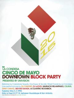 La Condesa Cinco de Mayo Downtown Block Party 2015