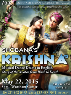 Indo American Association_Shobana_Krishna_May 2015