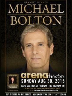 Arena Theatre Presents Michael Bolton