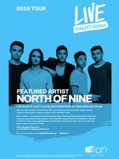 Paste Magazine Presents The North of Nine Live at Aloft Dallas