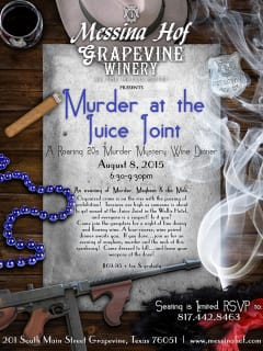 Murder at the Juice Joint - A Roaring 20s Murder Mystery Wine Dinner