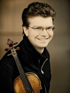 Violinist Scott St. John
