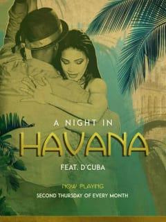 Prohibition Theatre presents <i>A Night in Havana Featuring D'Cuba</i>