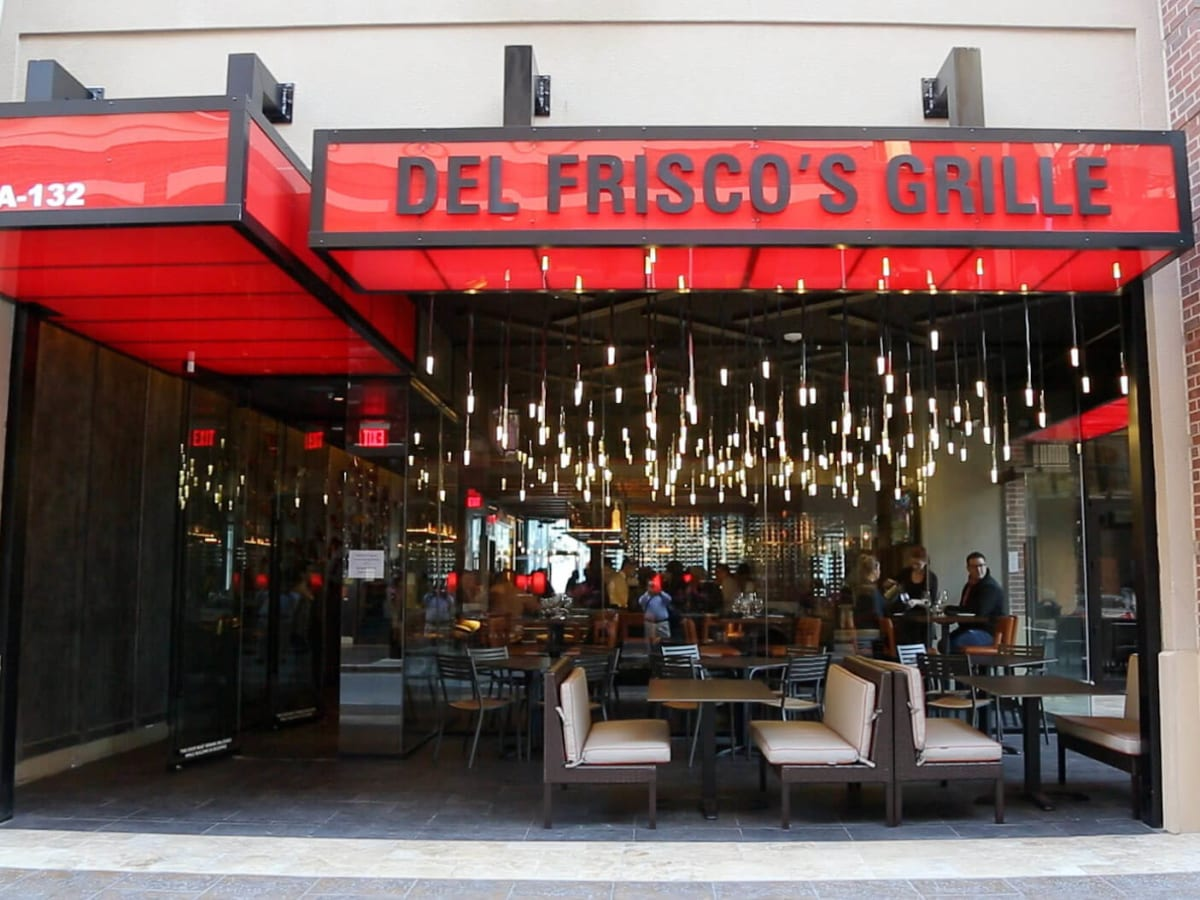 Bottom's Up, Del Frisco's Grille, March 2013, sign