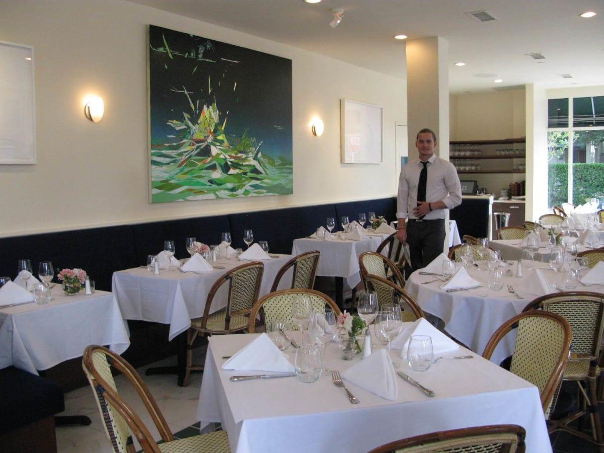 Le Bilboquet, dining room