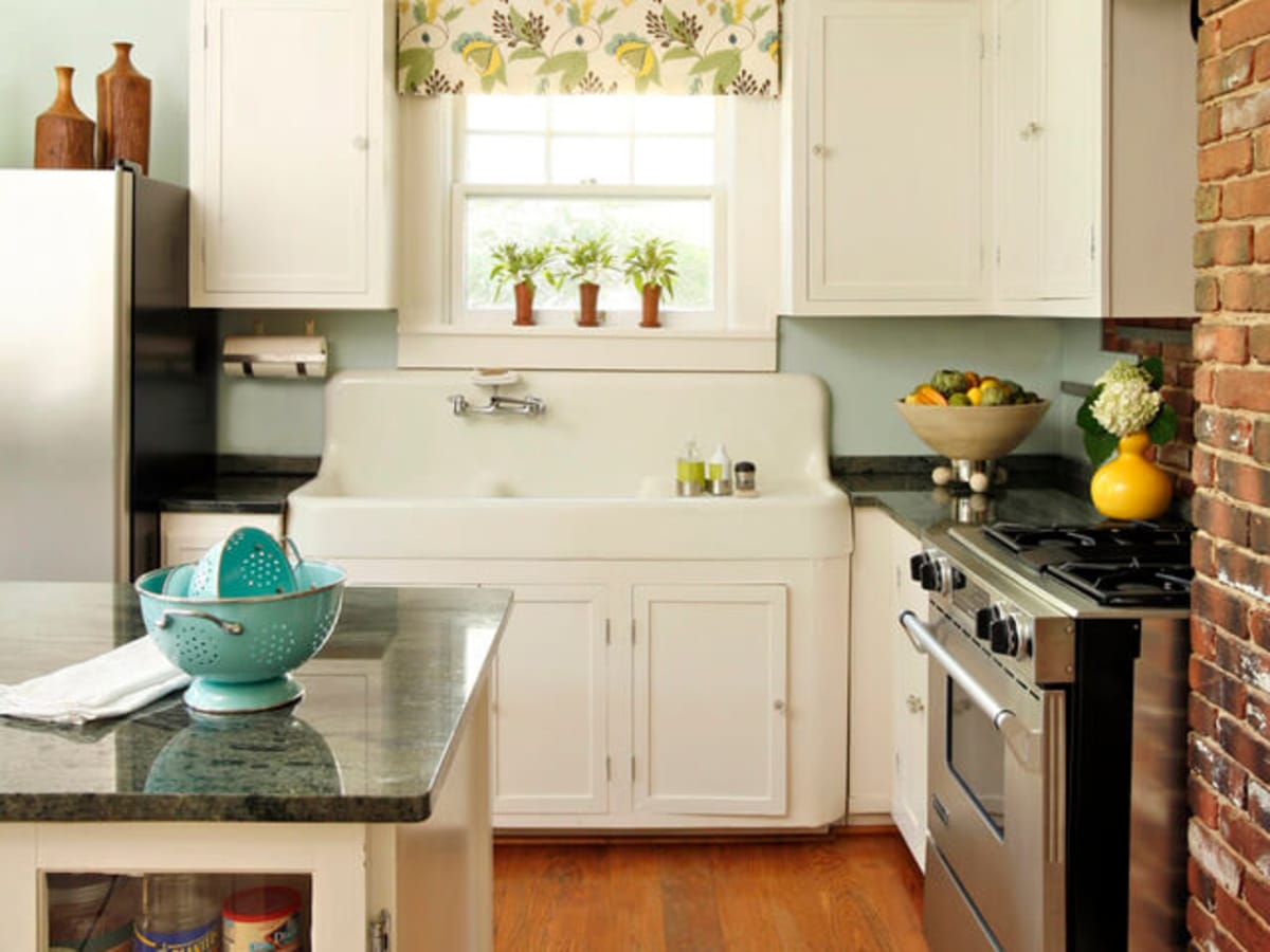 Houzz Fort Worth home tour Ryan Place kitchen