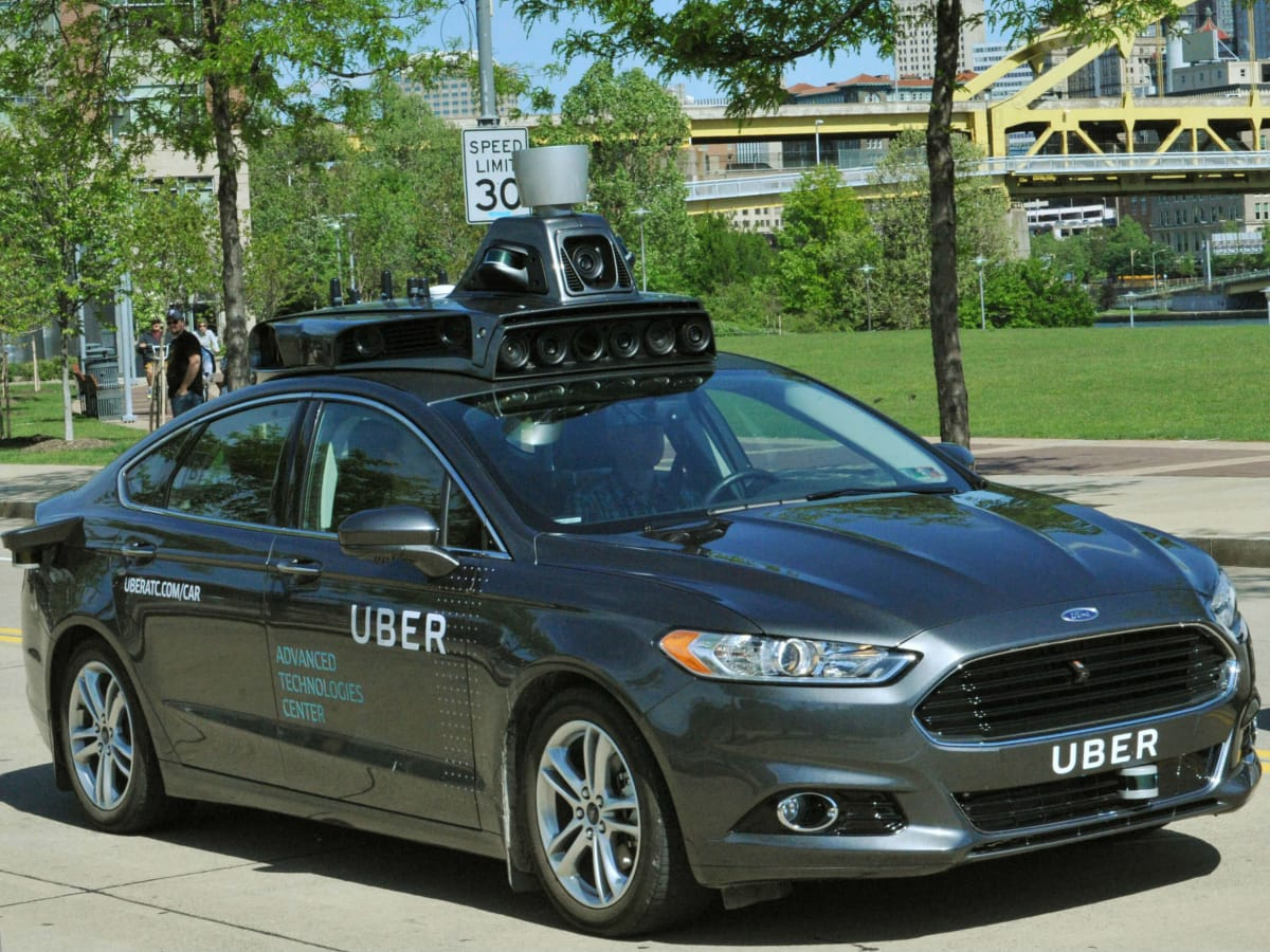 Uber Advanced Technologies Center mapping self-driving car vehicle
