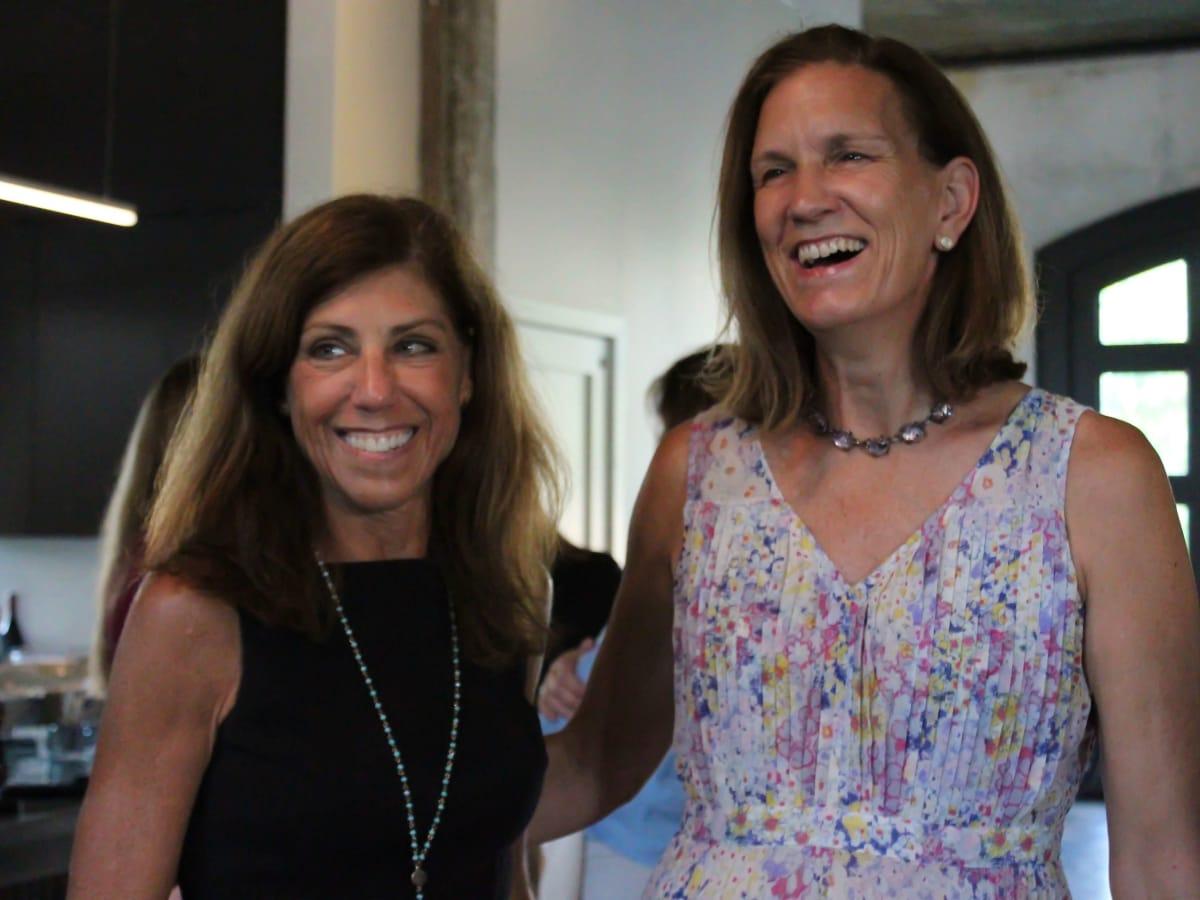 Houston Parks Board event, 7/16, Susan Bono, Anne Whitlock