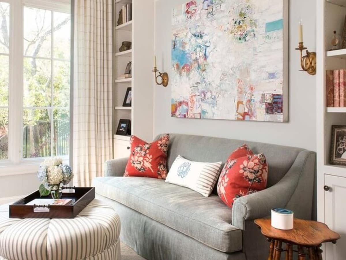 Houzz Dallas house home Alexander Drive stress-free style sitting room