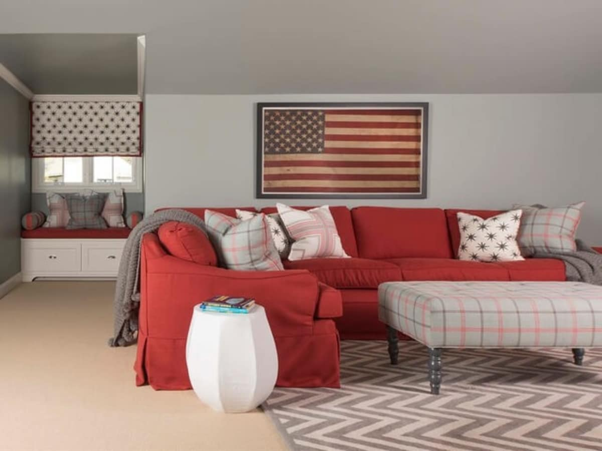 Houzz Dallas house home Alexander Drive stress-free style living room