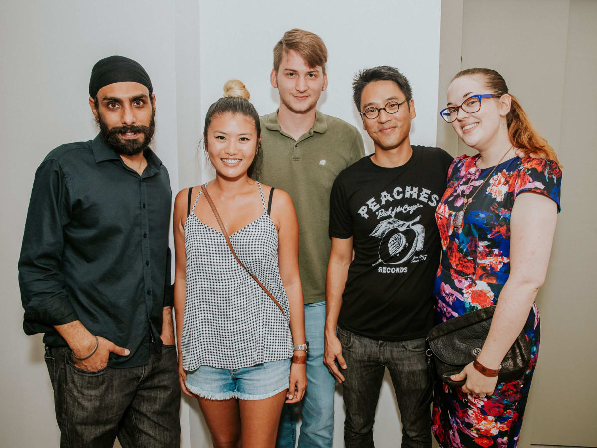 White Oak Music Hall Opening, 8/16, Jagi Katial, Jennifer Chou, Zach Adams, Johnny So, Claire Sewell