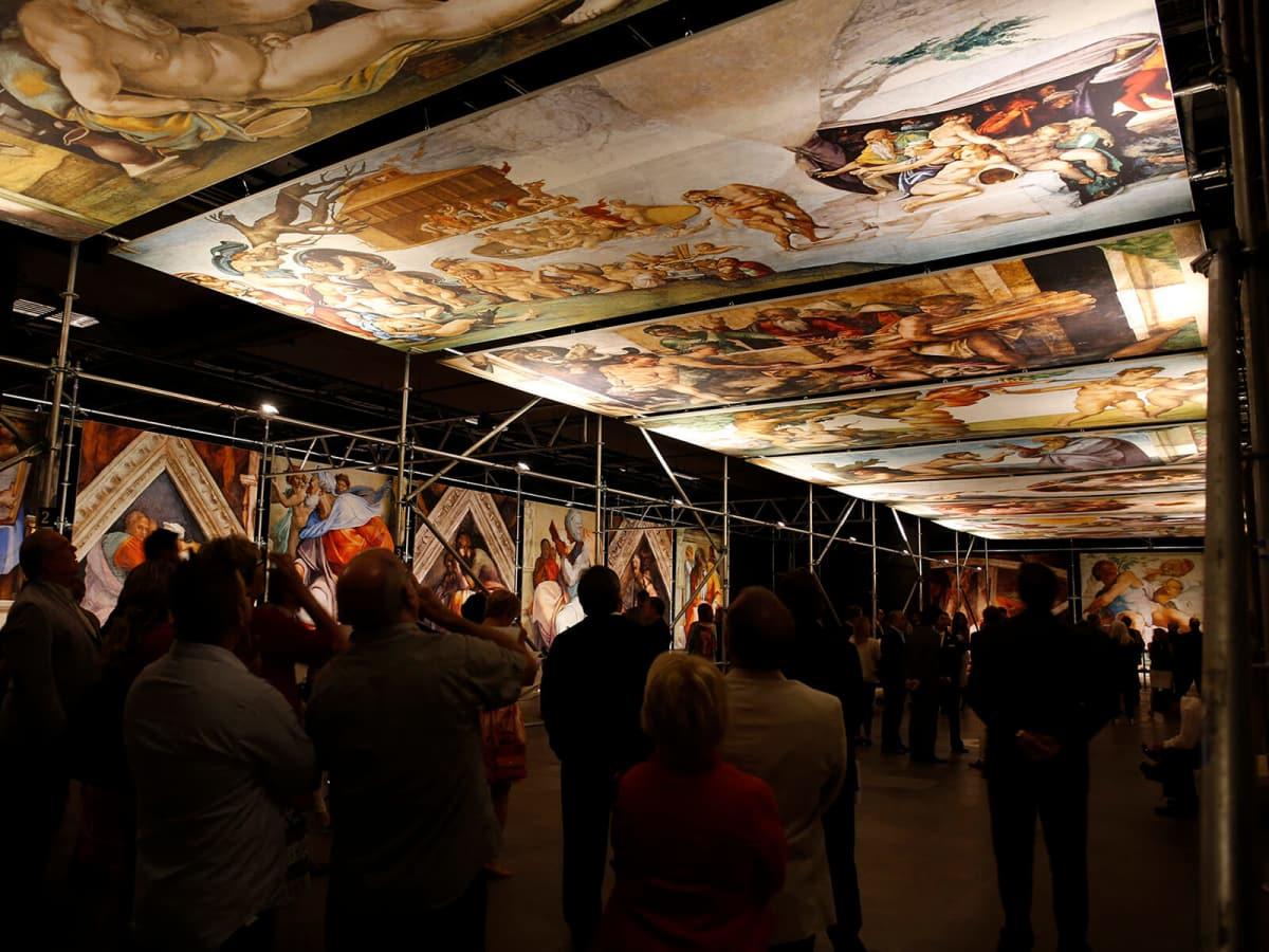 Michelangelo's Sistine Chapel - The Exhibition